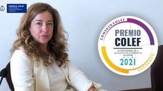 Leonor Gallardo, galardonada con el Premio Consejo COLEF 2021