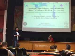 EL COLEF Andalucía, presente en la II Jornadas de Experiencias Profesionales en CCAFD