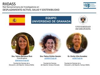 Colegiados/as COLEF Andalucía lideran la nueva red RIIDASS