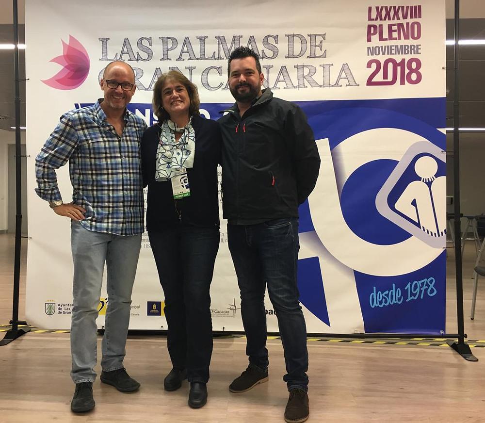 Representantes COLEF Andalucía