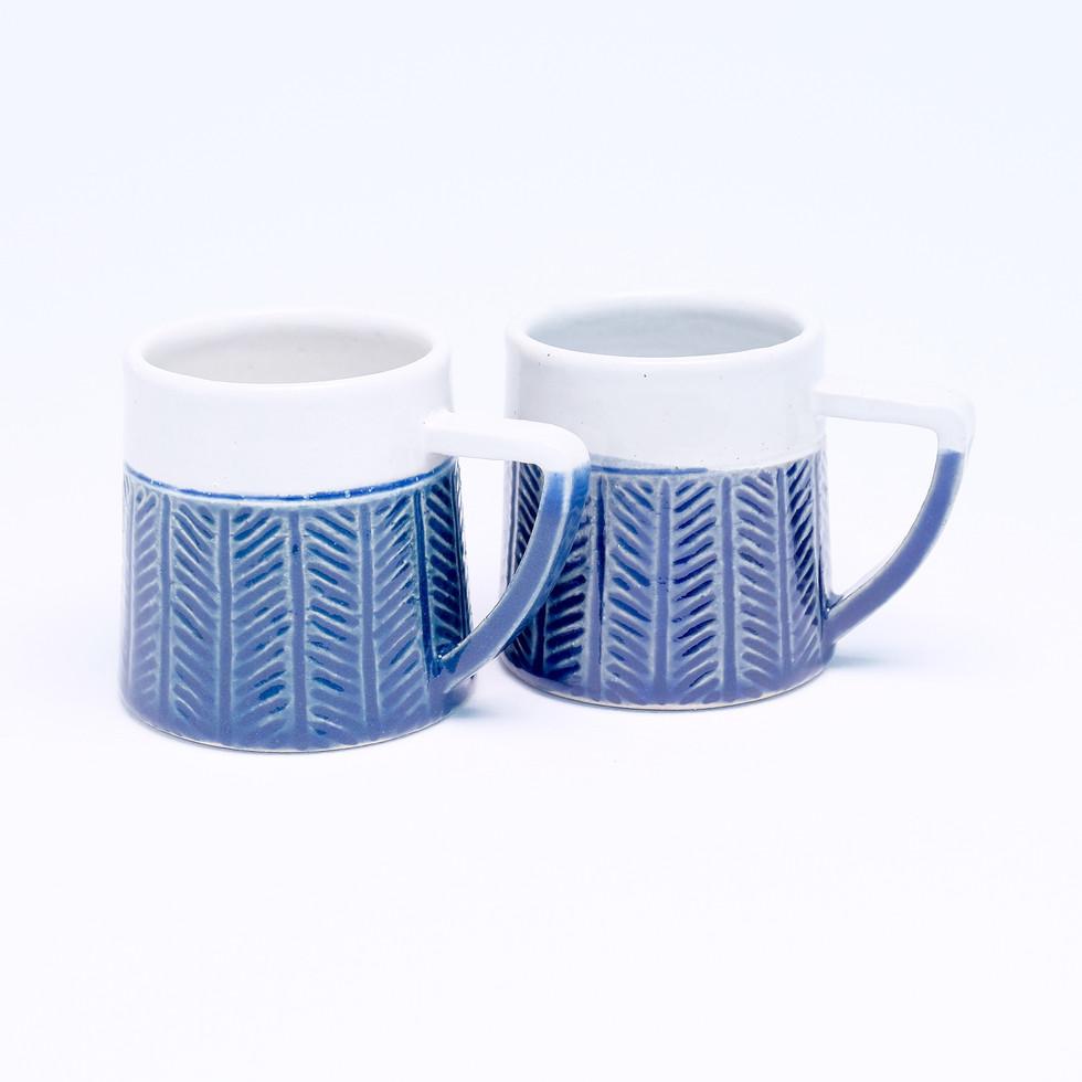 Chevron Mug Set