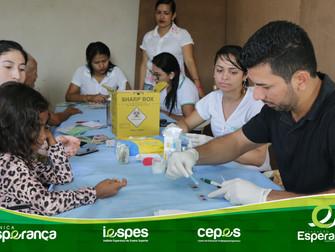 Fundação Esperança participa de ação em atenção à saúde