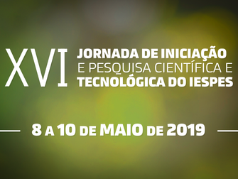 Iespes promove XVI Jornada Científica e disponibiliza resultado de diversas pesquisas ao público
