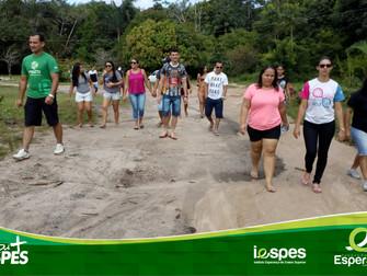 Acadêmicos de Gestão Ambiental visitam Estação de Tratamento de Esgoto licenciada