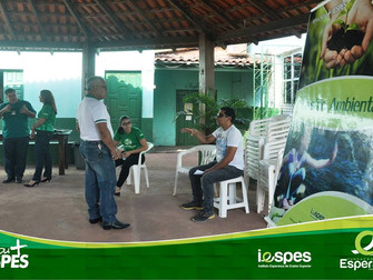 Curso de Gestão Ambiental do Iespes participa de evento no STTR