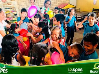 Turmas de Pedagogia finalizam intervenções do Projeto Interdisciplinar (PI) com atividades lúdicas