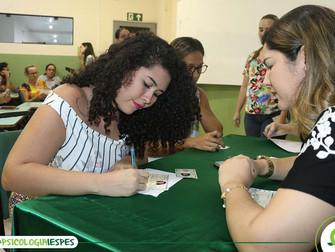 Egressos de Psicologia participam de cerimônia da entrega das carteiras profissionais
