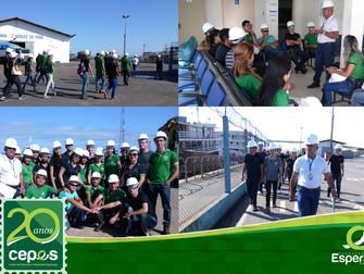 Turma de Segurança do Trabalho visita Companhia das Docas do Pará