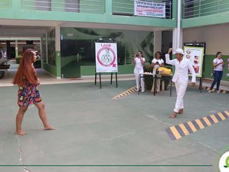 Liga Acadêmica do curso de Enfermagem promove evento alusivo às festividades do Sairé