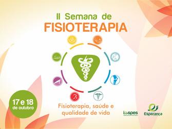 II Semana de Fisioterapia  aborda saúde e qualidade de vida