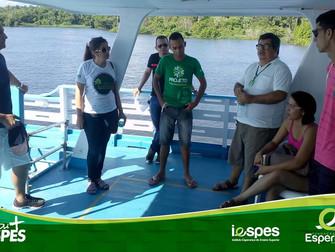 Acadêmicos de Gestão Ambiental fazem tour pelo lago do Maicá