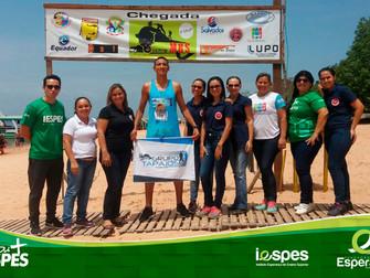 Liga Acadêmica do curso de Enfermagem participa da Meia Maratona do Rio e da Selva