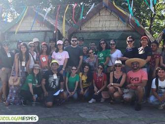 Atividade integra alunos de Psicologia no Sairé 2019