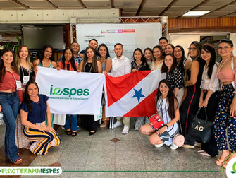 Grupo de Fisioterapia participa de Congresso Internacional em Fortaleza