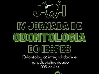 Curso de Odontologia promove IV Jornada de Odontologia do Iespes - JOI com palestras on-line
