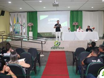 Palestra e exposições marcam o lançamento da  Escola de Negócios e Tecnologia