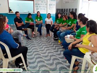 Acadêmicos de Psicologia participam de visita técnica à Pastoral do Menor