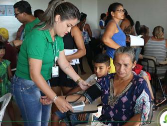 Fundação Esperança leva atendimentos de saúde, bem-estar e beleza aos moradores do Residencial Salva