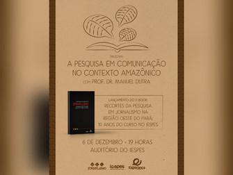 Iespes lança primeiro e-book do curso de Jornalismo