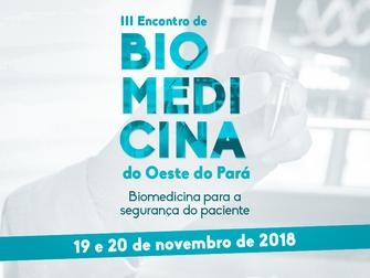 Encontro de Biomedicina realiza Concurso Literário, submissão de trabalhos e mesa interativa no Iesp
