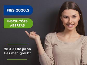 MEC abre inscrições do Fies para o segundo semestre de 2020