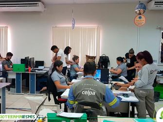Acadêmicos de Fisioterapia do Iespes realizam estágio da disciplina Saúde Coletiva com trabalhadores