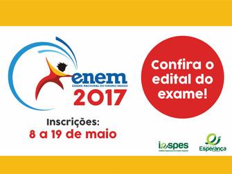 Edital do Enem 2017 já está disponível
