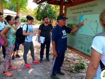 Alunos do Iespes participam de ação integrada na Floresta Nacional do Tapajós