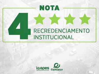 Iespes recebe moção de aplausos na Câmara Municipal pela nota 4 na avaliação do Mec