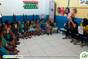 Crianças da Umei Salvação participam de ação sobre saúde mental com alunas de Psicologia do Iespes