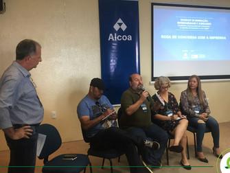 Professor do Iespes integra roda de jornalistas durante Workshop em Santarém