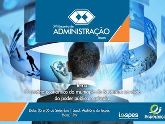 XVI Encontro de Administração do Iespes aborda mercado econômico em Santarém