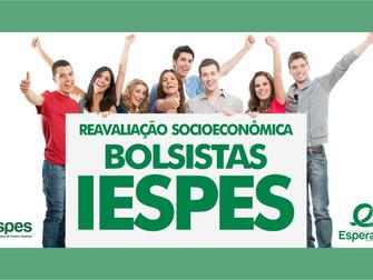 IESPES convoca todos os alunos bolsistas