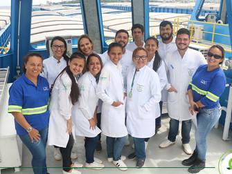 Equipe do Iespes promove ação de saúde em embarcação da empresa francesa LDC em Santarém