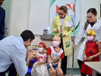 Projeto 'ABC Brincando' ampliará atividades com classe hospitalar do HRBA