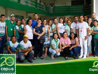 Cepes comemora 20 anos com ação social para comunidade