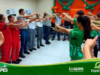Acadêmicos de Fisioterapia participam da Sipat do supermercado Atacadão