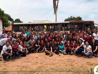 Associação Acadêmica realiza ação em referência ao mês das crianças no bairro Maicá