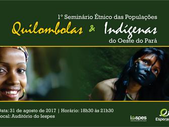 Turma de Enfermagem realiza 1º Seminário Étnico das Populações Quilombolas e Indígenas do Oeste do P