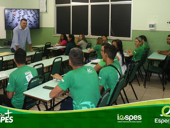 Funcionários do Iespes participam de treinamento voltado a qualidade no atendimento