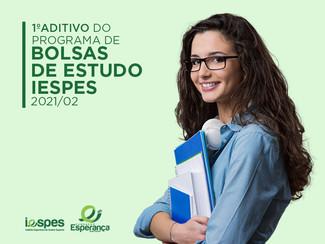 1º Aditivo ao edital de Bolsas de Estudos 2021/02