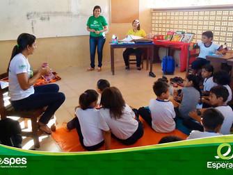 Acadêmicos de Pedagogia aplicam jogos para ajudar no processo de ensino-aprendizagem de crianças