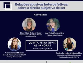 Evento do curso de Psicologia do Iespes aborda sobre a violência doméstica em Santarém