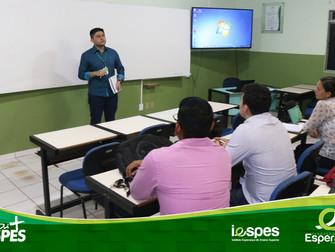 NAAP realiza reunião com novos professores do Iespes