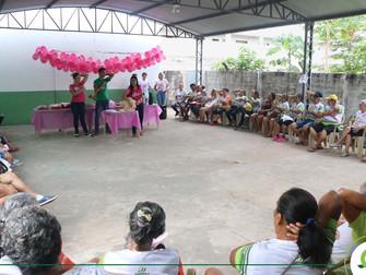 Iespes promove atividades alusivas à campanha Outubro Rosa, na instituição