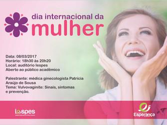 Evento alusivo ao Dia Internacional da Mulher será realizado no Iespes