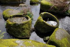 Les auges taillées dans la rivière. Chaos de Mardoul Loqueffret (29)