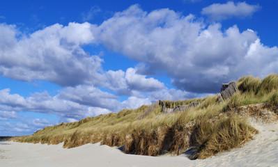 Un ciel chargé au dessus des dunes. Keremma (29)