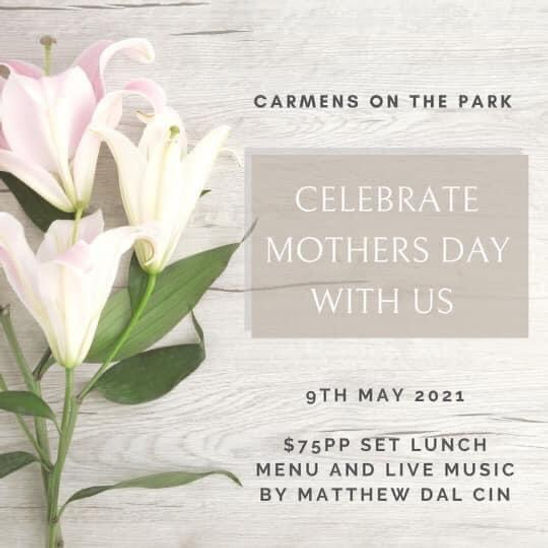 Carmens on the Park - Mothers Day 2021.j