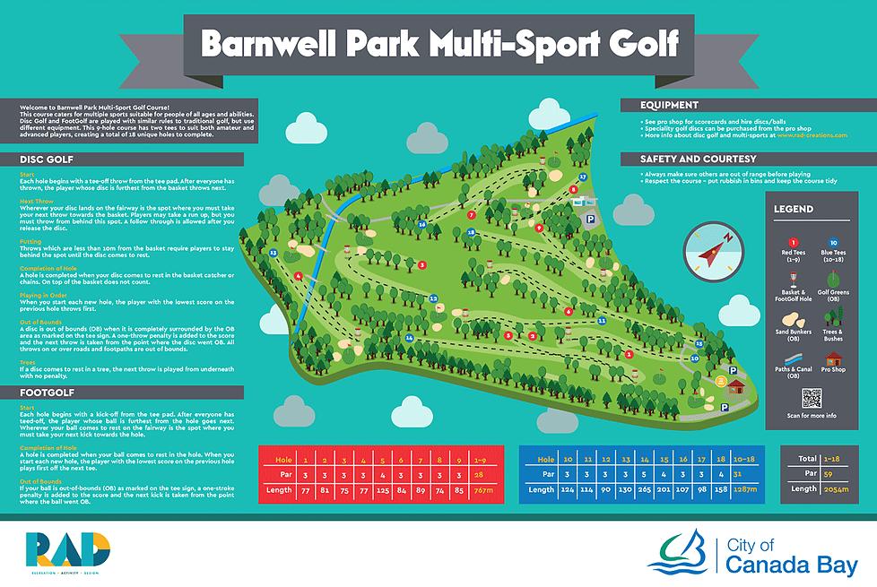 Barnwell disc golf CourseSign.webp